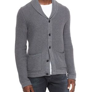 Rag & Bone Avery Shawl Cardigan in Grey